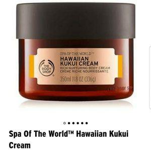 Body shop hawaiian kukui body cream